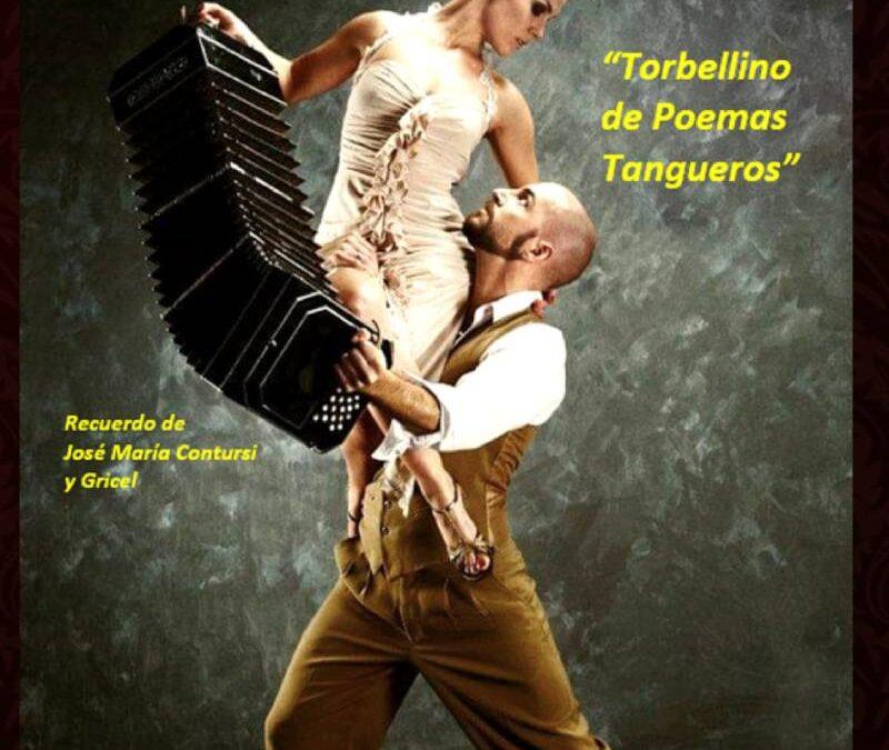 Dossier, Raider y Programa de mano de: Torbellino de Poemas Tangueros